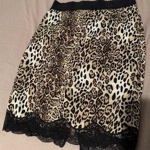 Victoria's Secret Lace Trim Pencil Skirt